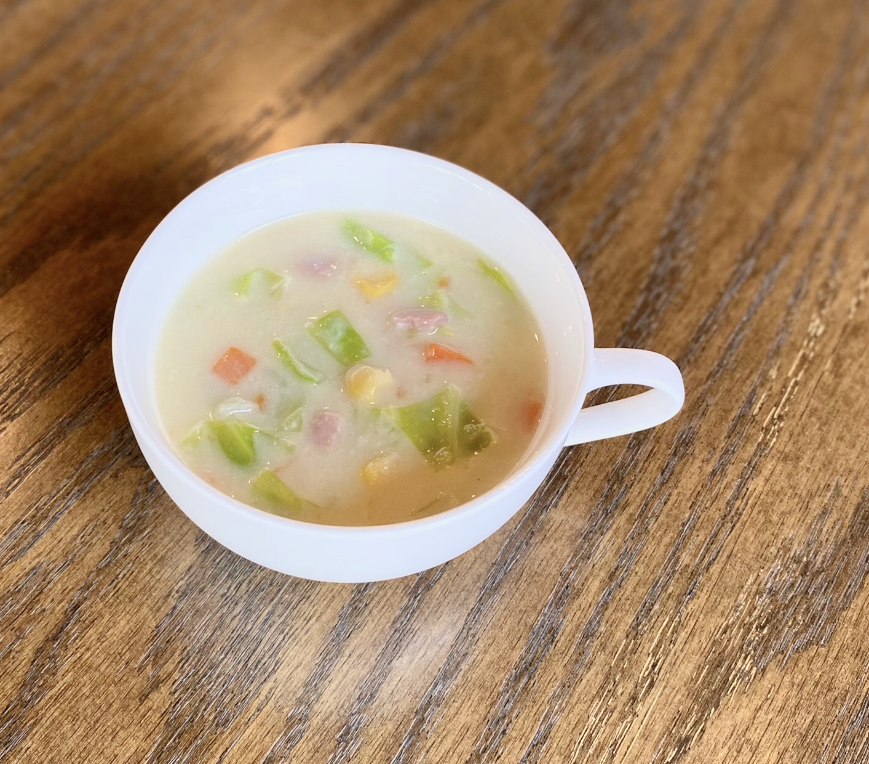 【4月限定】春キャベツの豆乳クリームスープ